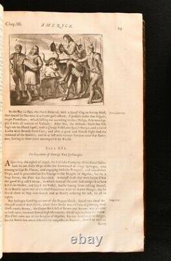 1671 America Description of the New World John Ogilby Illustrated 1st