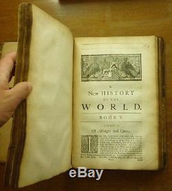 1720 CORNELIUS NARY A New History of the World IRISH CATHOLIC PRIEST Dublin