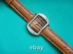 1972 Helvetia New World Barrel Cal. 76 of The Blood Omega Dial Type Wood