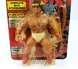 1982 Remco The Lost World Of The Warlord Hercules Action Figure New Mint MOC