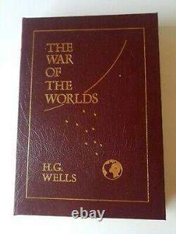 (1986) The War Of The Worlds HG Wells Easton Press Leather Bound New