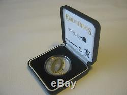 2003 New Zealand Lord of The Rings $1 Silver Proof Dollar Coin