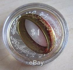 2003 New Zealand Lord of the Rings $1 silver proof coin set (24 coins)