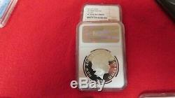 2012 New Zealand LOTR Bilbo Baggins Lord of the Rings The Hobbit NGC PR69 coin