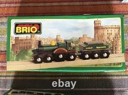 33430 Brio Wooden Lord of the Isles! Train of the World Series! Thomas! NEW