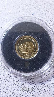 5 Dollars Solomon Islands 2011 New Seven Wonders of The World