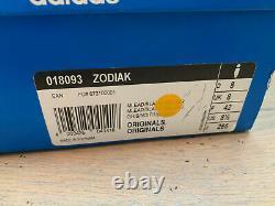 ADIDAS ZODIAK MATERIALS OF THE WORLD NEVER WORN UK8 new 42 gazelle sl jeans