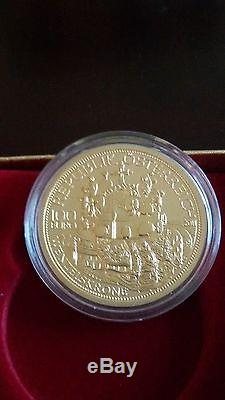 Austria 100 euro Gold Proof Coin 2011 The Crown of St. Wenceslas New