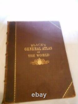 BLACKS General Atlas of The World. New and Revised Edition. 1873