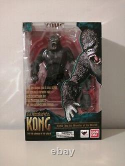 Bandai S. H. MonsterArts KING KONG The 8th Wonder Of The World Open Box New US