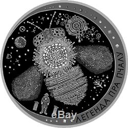 Belarus 2017, THE LEGEND OF THE BEE Folk Legends, 20 rubles, 1 oz Silver NEW