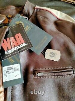 Belstaff Hero XXL-NUOVO-NEW-BISONTE-Tom Cruise-WAR OF THE WORLDS-RARE-N. 0081