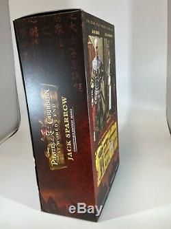 Brand New Jack Sparrow Pirates of the Caribbean at Worlds End Hot Toys MMS42