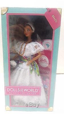 Brazil Barbie / Dolls Of The World Pink Label / 2011 / New Nrfb