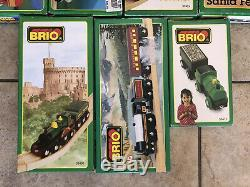 Brio Wooden Trains of the World Series Lot of 11! New! Thomas! Over 20 Years Old