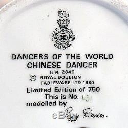 CHINESE Royal Doulton Dancer of the World HN2840 NEW IN BOX England Peggy Davies