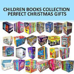 Children Books Collection Dr Seuss, Harry Potter, Tom Gates, Enid Blyton NEW Set