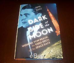 DARK SIDE OF THE MOON Wernher Von Braun Third Reich Space Race 1st Ed. Book NEW