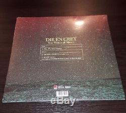 DIR EN GREY The World of Mercy / 12 RED VINYL / LP / NEW / LIMITED EDITION