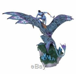 Disney Parks Pandora The World of Avatar Jake Riding Banshee Figurine New
