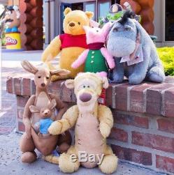 Disney Winnie The Pooh Plush SET OF 5 LTD addition WALT DISNEY WORLD 2018 NEW