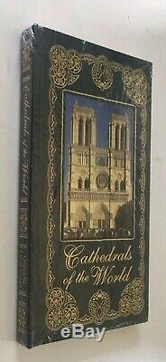 EASTON PRESS CATHEDRALS OF THE WORLD Leather SEALED NEW