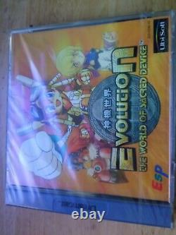 Evolution The World Of Sacred Device Sega Dreamcast PAL New & Sealed