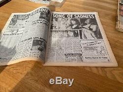 FREDDIE MERCURY News Of The World UK Newspaper 24th November 1991 Queen
