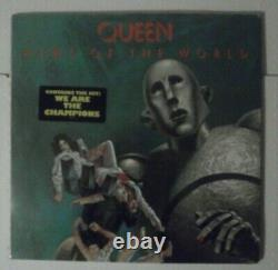 Factory Sealed Queen News Of The World Vinyl Record 1977 Orig 1st Press