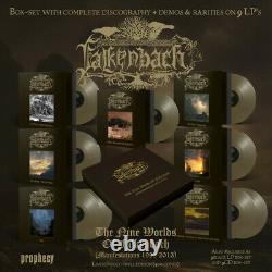Falkenbach The Nine Worlds Of Falkenbach GOLD VINYL BOX NEW SEALED