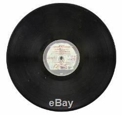 Freddie Mercury Queen Authentic Signed News Of The World Vinyl Album JSA BB41824