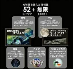 Gakken New World Eye Infinite Amount of Information Beyond the Globe Japan