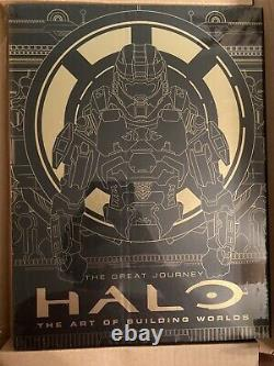 Halo The Art of Building Worlds Limited Edition NEW Sealed