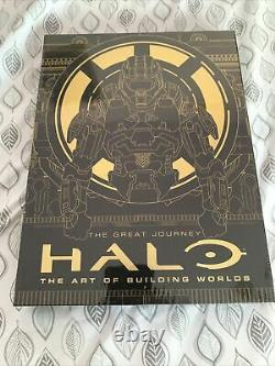 Halo The Art of Building Worlds Limited Edition NEW & Sealed #154 Of 1000