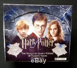Harry Potter 3D Trading Cards Box 2nd Edition New 2008 The World of HP Amricon