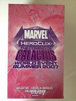 Heroclix The Coming Of Galactus Figure NEW and OOP Marvel 2007 World Event