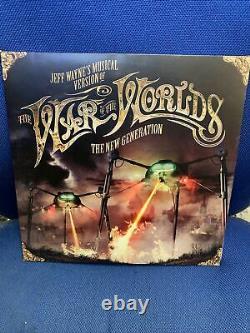 Jeff Waynes Musical Version War Of The Worlds New Generation. 2 VINYL. READ