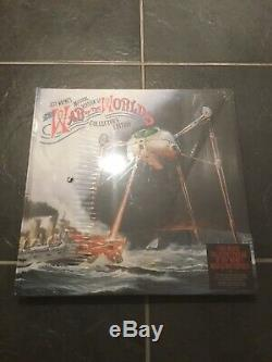 Jeff Waynes War Of The Worlds Collectors Deluxe Edition 7 Discs. New Sealed