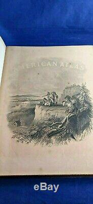 Johnson's New Illustrated Family Atlas Of The World 1866, book