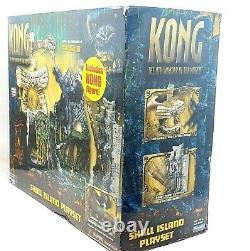 Kong 8th Wonder of The World Skull Island Playset Playmates Brand New Sealed
