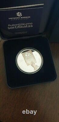 Lithuania Poland 20 EURO 2021 The 230th Anniversary of the Constitution proof