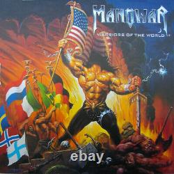 Manowar Warriors Of The World (2002) Nuclear Blast vinyl Germany sealed NEW