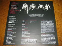 Manowar-Warriors of the world LP, Nuclear Blast Germany 2002, megarar, newithneu