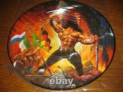 Manowar-Warriors of the world Picture Disc, Nuclear Blast Germany 2002, ltd, new