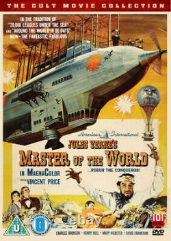 Master of the World DVD (2014) Vincent Price, Witney (DIR) cert U NEW
