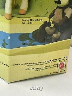 Mattel 1983 the colorful world of rainbow Brite Murky Dismal New Unopened Sealed