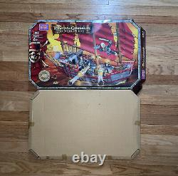 Mega Bloks 1065 Pirates of the Caribbean At World's End Deluxe Ship Empress NEW