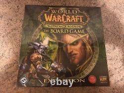 NEU! World of Warcraft Burning Crusade Brettspiel The Board Game NEW! Sealed