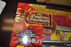 NEW DISNEY PIRATES OF THE CARIBBEAN WORLDS END PIRATE Gear Jack Sparrow pistol