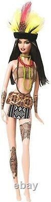 NEW Dolls of the World AMAZONIA BARBIE #P4754 NRFB MINT